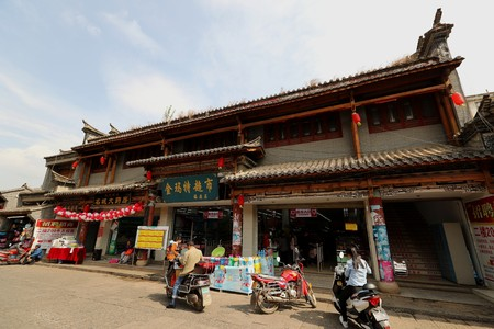 Ancient City Street View in Huize County, Yunnan Province 新聞圖片