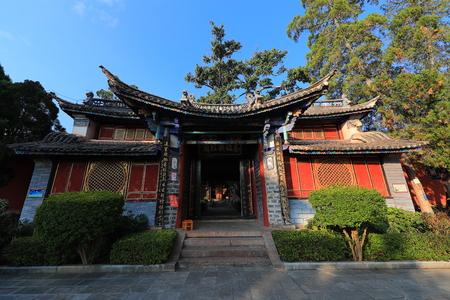 Nanjing Tiezhu Temple in Midu County, Yunnan Province Banco de Imagens - 124999403