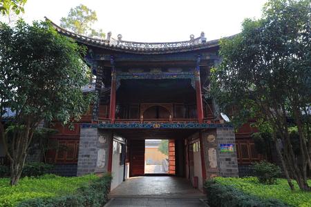 Nanjing Tiezhu Temple in Midu County, Yunnan Province 新聞圖片