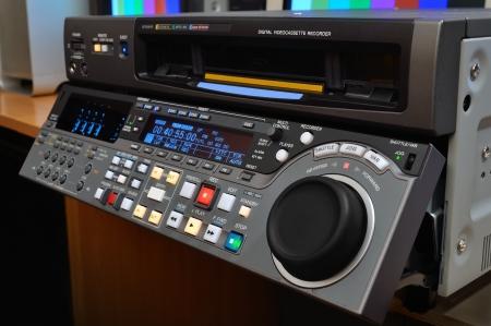 postproduction: Professional video recorder (digital betacam format)