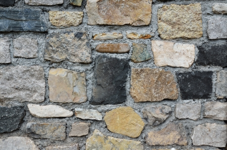 fortified wall: stone texture