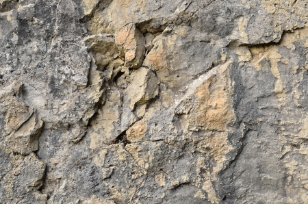 Gray and yellow stone texture