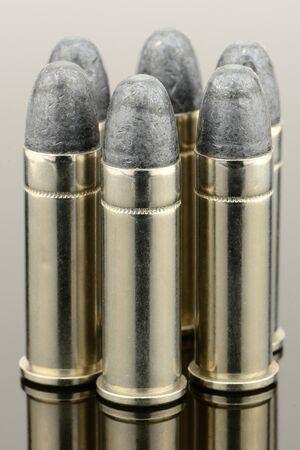 Large handgun ammunition  photo