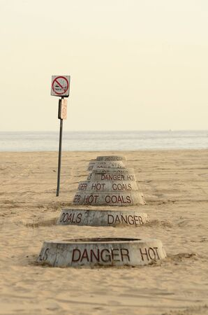 pits: Public fire pits on Newport Beach in the southwest part of Los Angeles CA