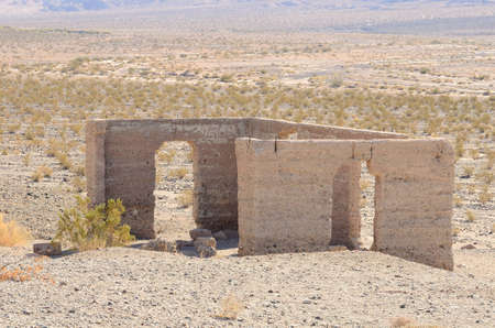 mill valley: Ashford Mill Ruins in Death Valley National Park California