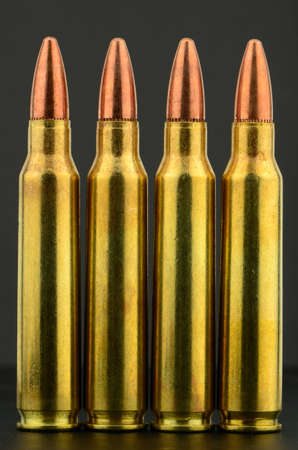 223 copper bullet rifle ammunition photo