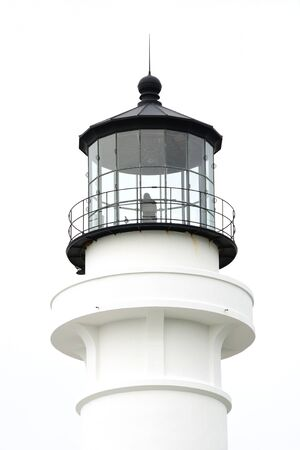Point Arena Lighthouse, 115 feet tall and lit in 1908 sits along Northern California photo
