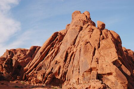 protectorate: Rock Formations and Blue Sky, Valley of Fire State Park, North East of Las Vegas, NV
