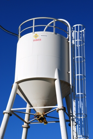 nitrate: Ammonium Nitrate Storage Silos, Austin Powder Company, Roseburg OR