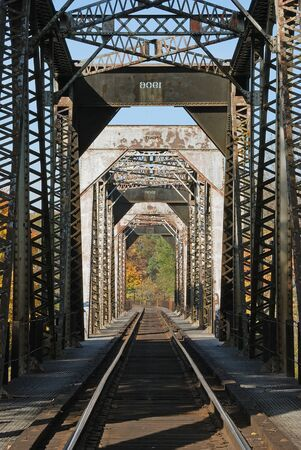 Southern Pacific Railroad Bridge at Winchester OR Stock Photo - 14734397