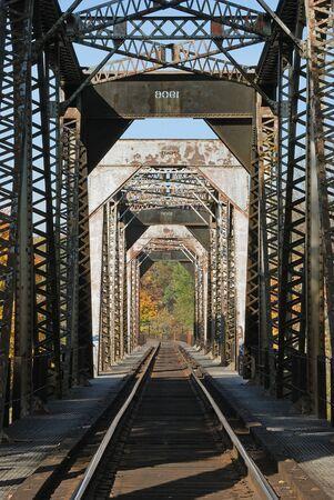 Southern Pacific Railroad Bridge at Winchester OR Stock Photo - 14734397