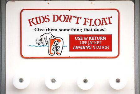 precaution: Kids precaution Stock Photo