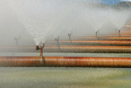 Roseburg Forest Products water treatment plant using 1 ton Chlorine Cylinders at Dillard OR