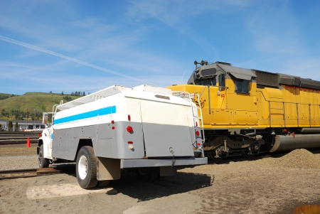haz mat: Simulated Train and Tank Truck accident with a WMD component - including a pipe bomb on the tank truck, radiogical components