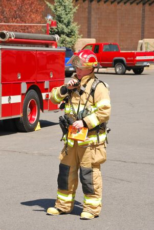 turnouts: First arriving engine company officer relays information to dispatch upon arrival of a hazardous materials incident Editorial