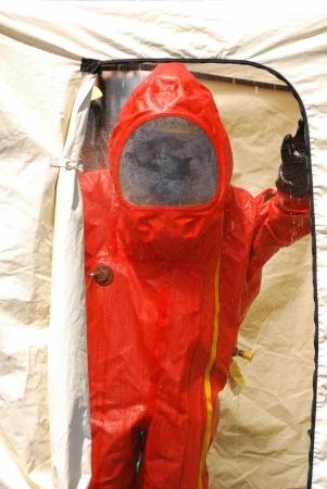 amoniaco: Klamath Falls Shoot for Haz Mat fuga de amon�aco Outreach v�deo simulado en una instalaci�n con una entrada de nivel