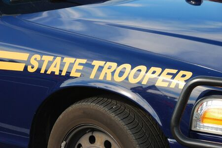 trooper: State Trooper Cruiser at a Fire and emergency services week in Roseburg Oregon
