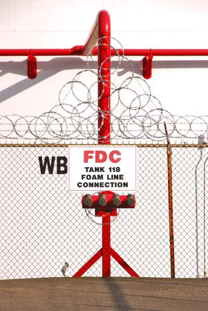 petrolium: Foam FDC at a large petrolium tank farm in SW Portland Oregon