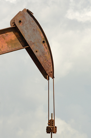 dug well: jack pump  is the overground drive for a reciprocating piston pump in an oil well  in eastern Texas