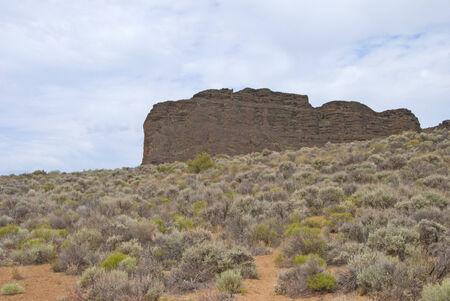 Fort Rock in central Oregon