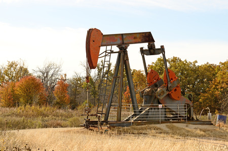 dug well: pumpjack,  nodding donkey,  horsehead pump, rocking horse, beam pump, dinosaur, sucker rod pump, grasshopper pump, Big Texan, thirsty bird, or jack pump  is the overground drive for a reciprocating piston pump in an oil well  in eastern Texas
