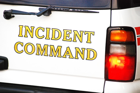 emergency vest: Incident Command
