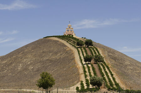 ronald reagan: PASO ROBLES, CA, USA - JUNE 30, 2014: Spanish mission style church called Chapel Hill built on a vineyard and ranch owned by Bill Clark an advisor President Ronald Reagan