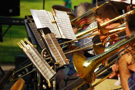 2012 年 7 月 4 日スチュワート公園オレゴン州ローズバーグで独立記念日のお祝い 写真素材