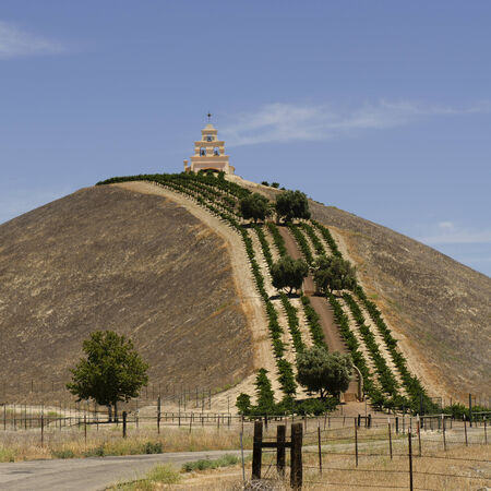 ronald reagan: Spanish mission style church called Chapel Hill built on a vineyard and ranch owned by Bill Clark an advisor President Ronald Reagan