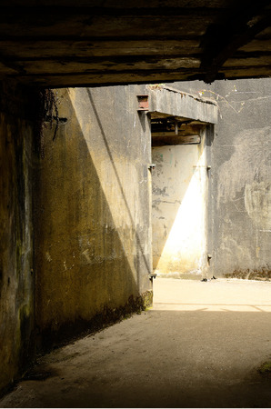 millitary: Structures of a an old coastal military base, Fort Stevens State Park is near Astoria Oregon