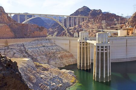 hydroelectricity: Hoover Dam at Lake Mead National Recreation Area Mike OCallaghan – Pat Tillman Memorial Bridge