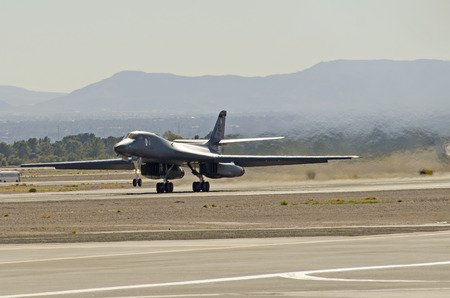 U.S. Air Force B-1B Lancer, Nellis Air Force Base, Aviation Nation 2014 airshow