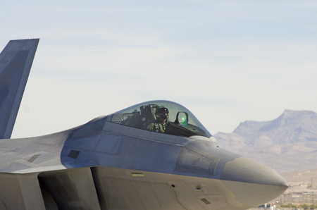 U.S. Air Force F22 Raptor Nellis Air Force Base Aviation Nation 2014 airshow