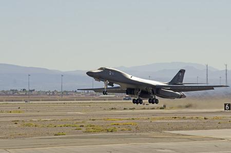 U.S. Air Force B1B Lancer Nellis Air Force Base Aviation Nation 2014 airshow