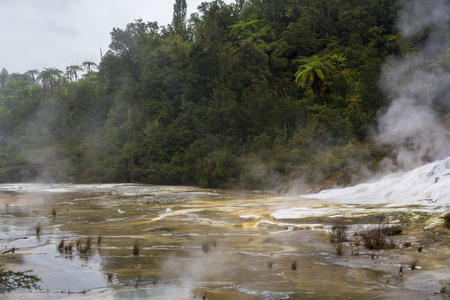 geothermal activity scenery