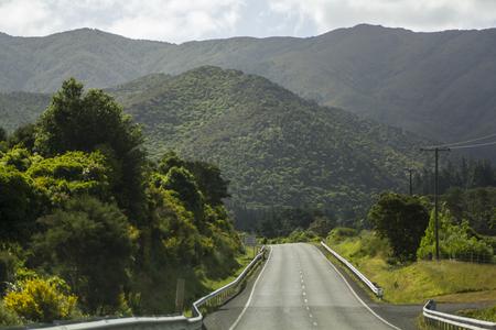 Stunning mountain road
