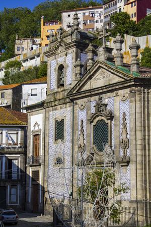 Church of St. Peter Miragaia located in the parish of Miragaia in Porto, Portugal