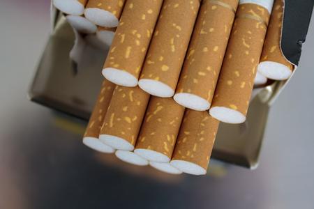 cigarettes in pack Banco de Imagens