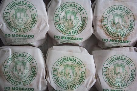 Azores, Portugal - Circa, November 2018: Portuguese cheesecake of Azores island called Queijadas da Vila Franca