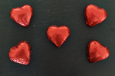 Sweet Chocolate hearts