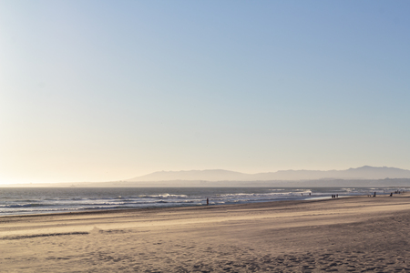 Summer beach landscape Banco de Imagens