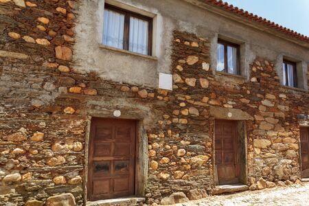 Schist house in Portuguese Village
