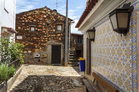 Historical portuguese village - Janeiro de Cima Stock Photo