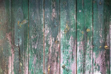 Vintage green wood texture