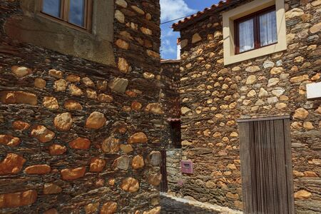 Typical schist house in Portuguese Village
