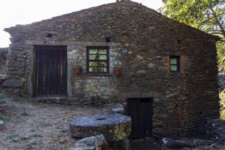 Rural stone house