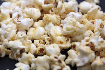 Heap of sweet popcorns
