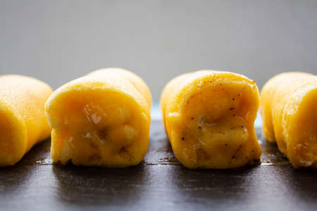 Traditional portuguese sweet called Torta de Azeitao