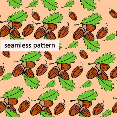 jointless: acorns Illustration