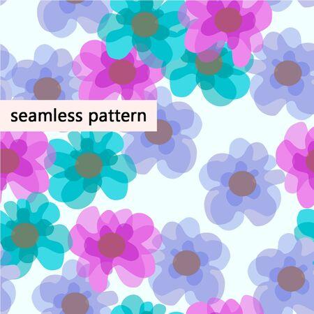 jointless: pattern flowers